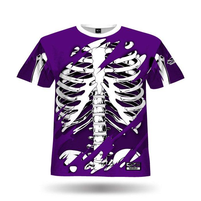 Bones II Purple Full Dye Jersey Front