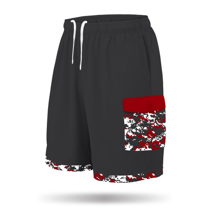 Full Dye Cargo Shorts