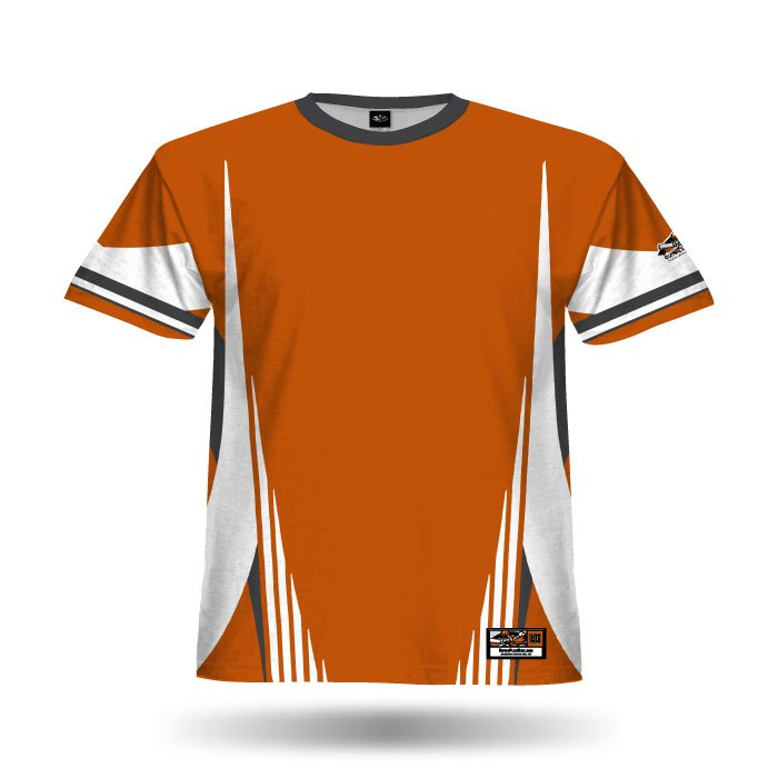 Combat Texas Orange Full Dye Blank Jersey
