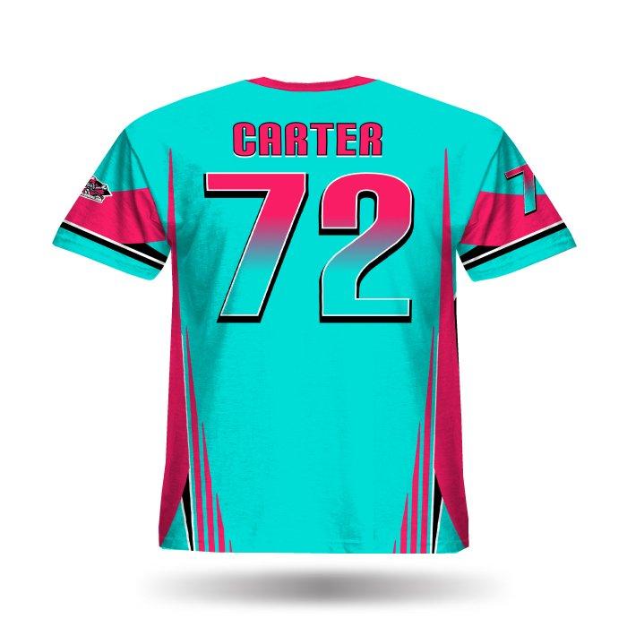 Combat Columbia & Dark Pink Full Dye Jersey