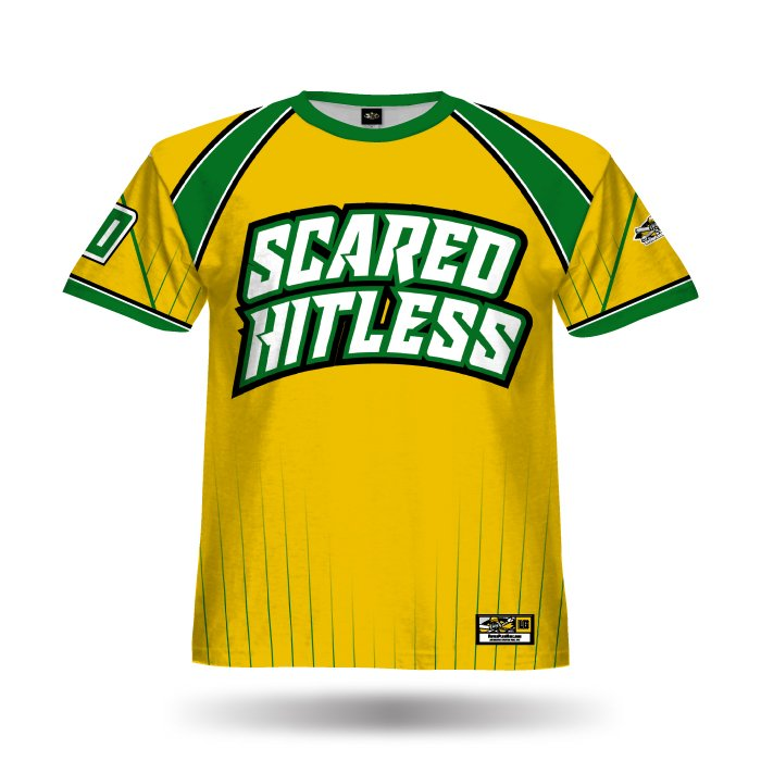 Crush Athletic Gold & Dark Green Full Dye Jersey