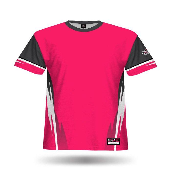 Delta Dark Pink Full Dye Jersey Front