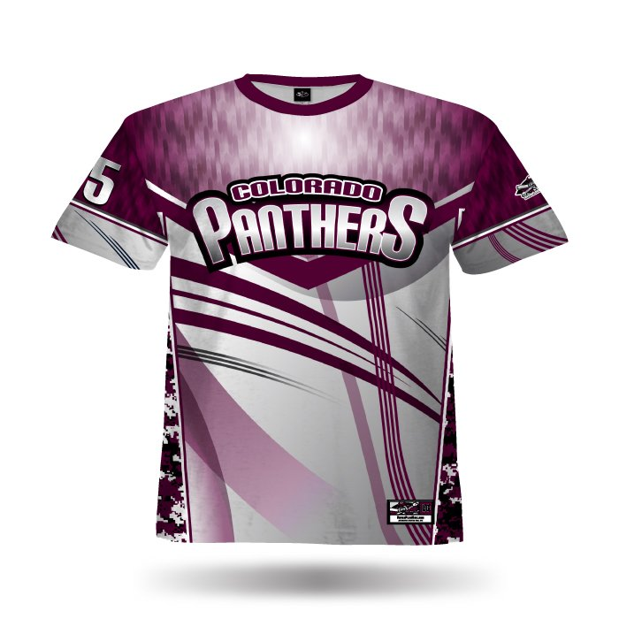 DigiCamo IV Maroon & Grey Full Dye Jersey