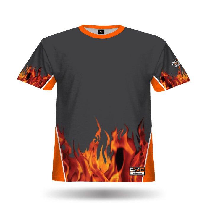 Fireball Steel Grey Full Dye Jersey