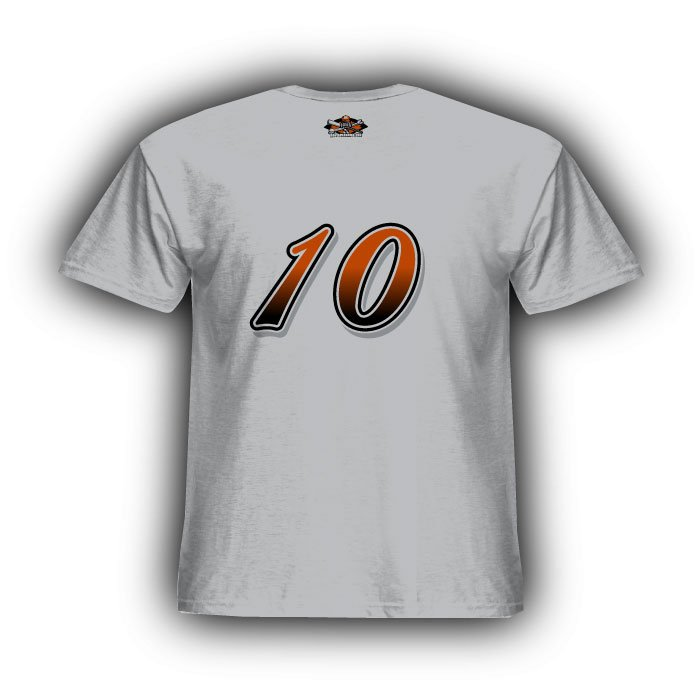 Grey Orange & Black Standard Jersey
