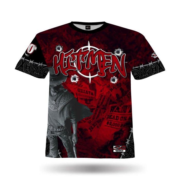 Gunslingers Red & Black Full Dye Jersey