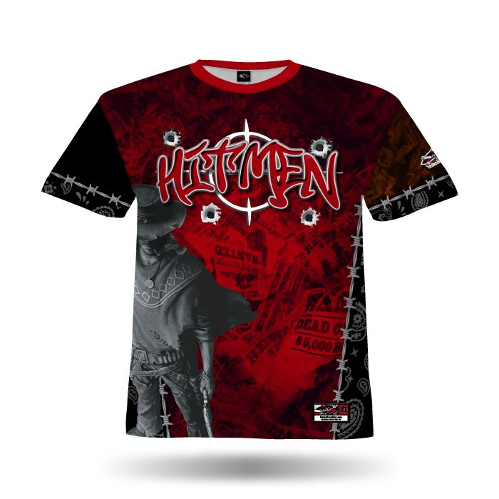 Gunslingers Red Full Dye Jersey Front