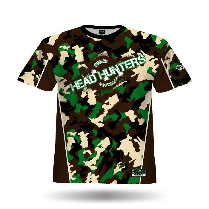 Jammer Camo Full Dye Jersey Front
