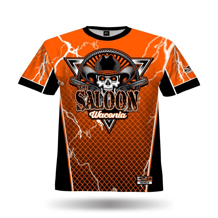 Lightning Orange Full Dye Jersey