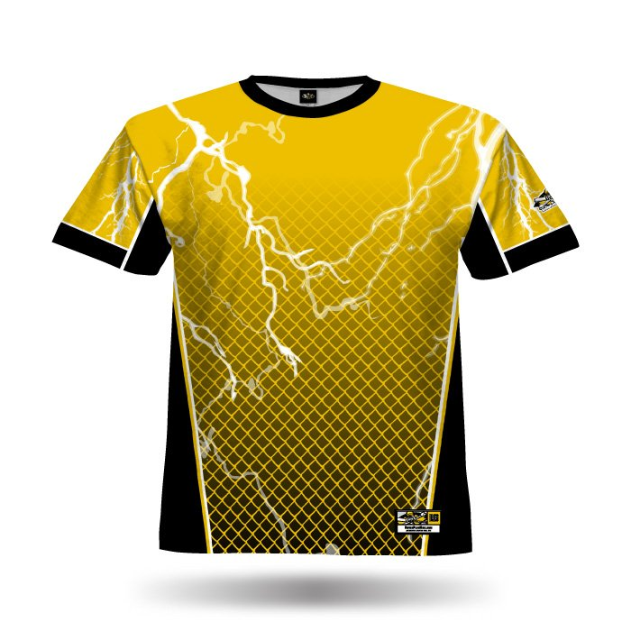 Lightning Yellow Full Dye Jersey Front