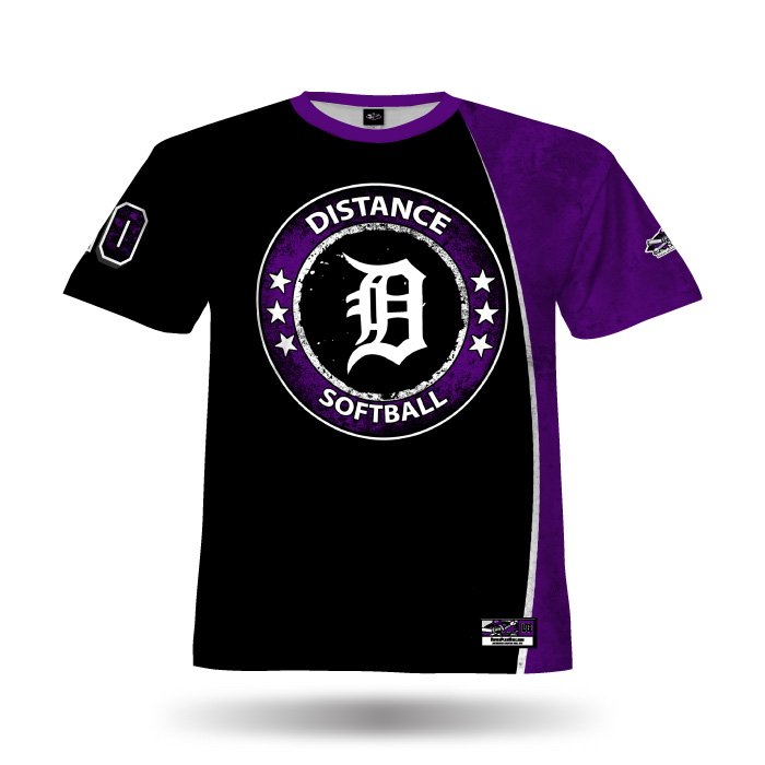 Mudslinger Black & Purple Full Dye Jersey Front