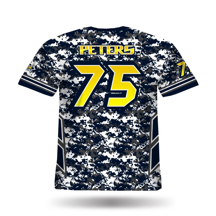Navy Strong Navy & Grey Full Dye Jersey