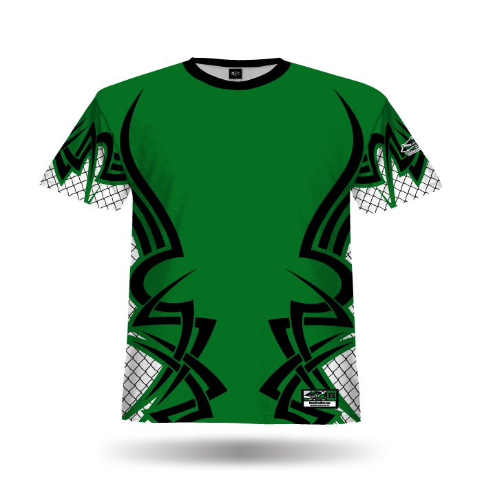 New Tribal Dark Green Full Dye Jersey Blank Front
