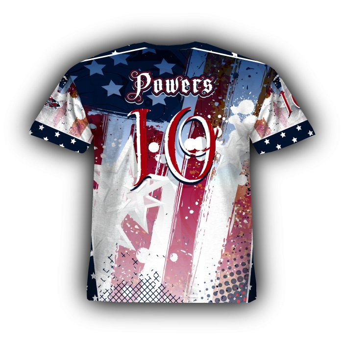 Patriotic Eagle Jersey - Rover Plus Nine Full Dye Sublimated Jerseys 351b9bf70