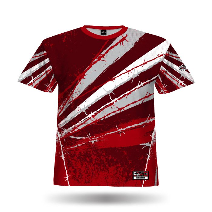 Pinwire II Red Full Dye Jersey