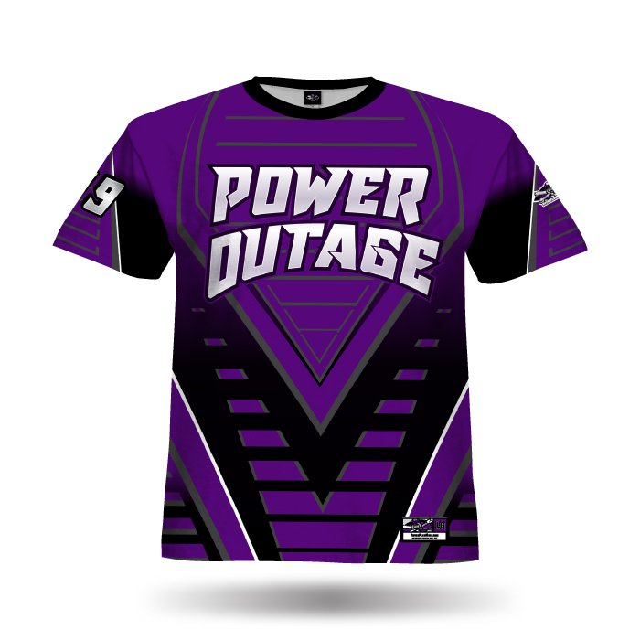 Relentless Purple & Black Full Dye Jersey