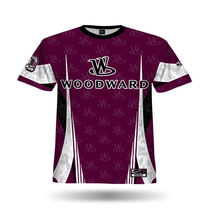 Revenge Maroon & Black Full Dye Jersey