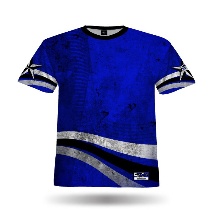 State Pride Royal Blank Full Dye Jersey Front