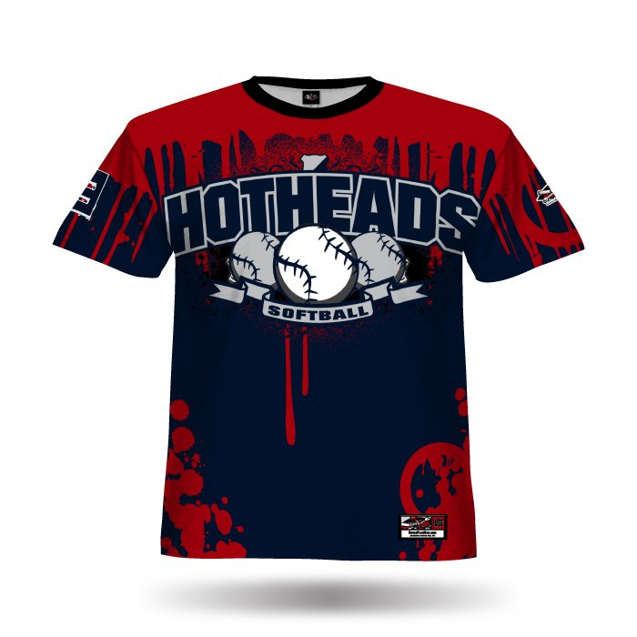 Tag Navy & Red Full Dye Jersey