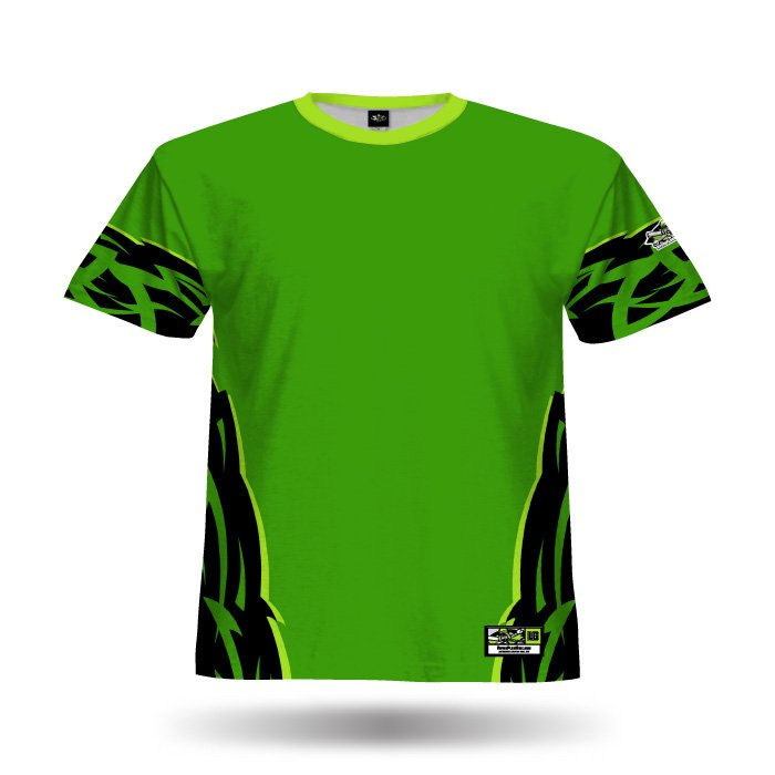 Thorn Kelly Green Full Dye Jersey Blank Front