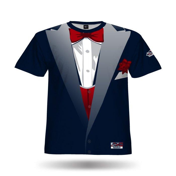 Tuxedo Navy Full Dye Jersey Blank Front