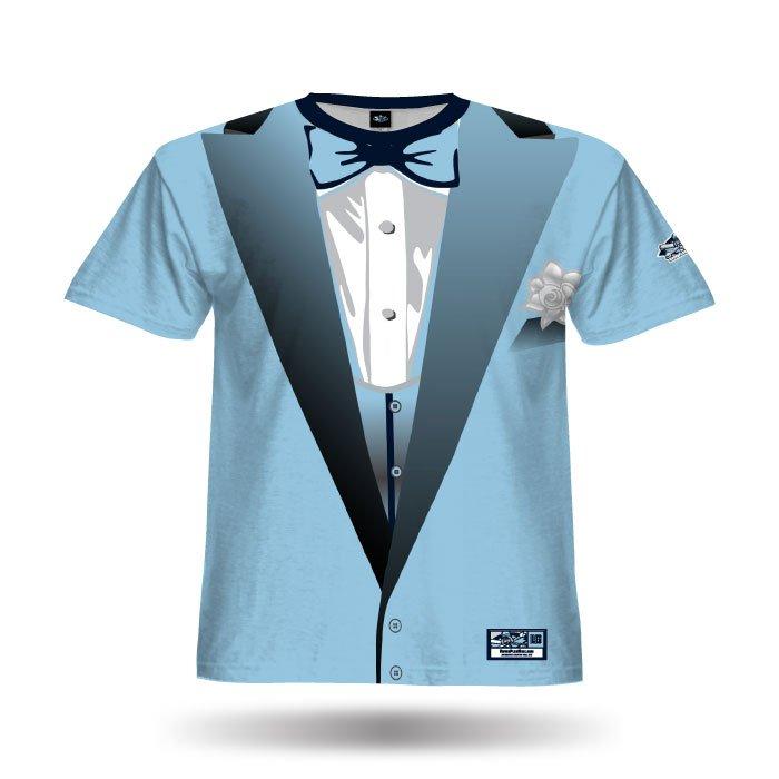 Tuxedo Columbia Full Dye Jersey Front