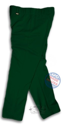 Solid Dark Green Softball Pants