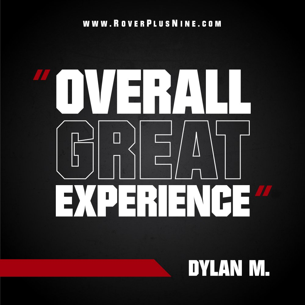 """Testimonial - """"Overall Great Experience"""" - Dylan M."""
