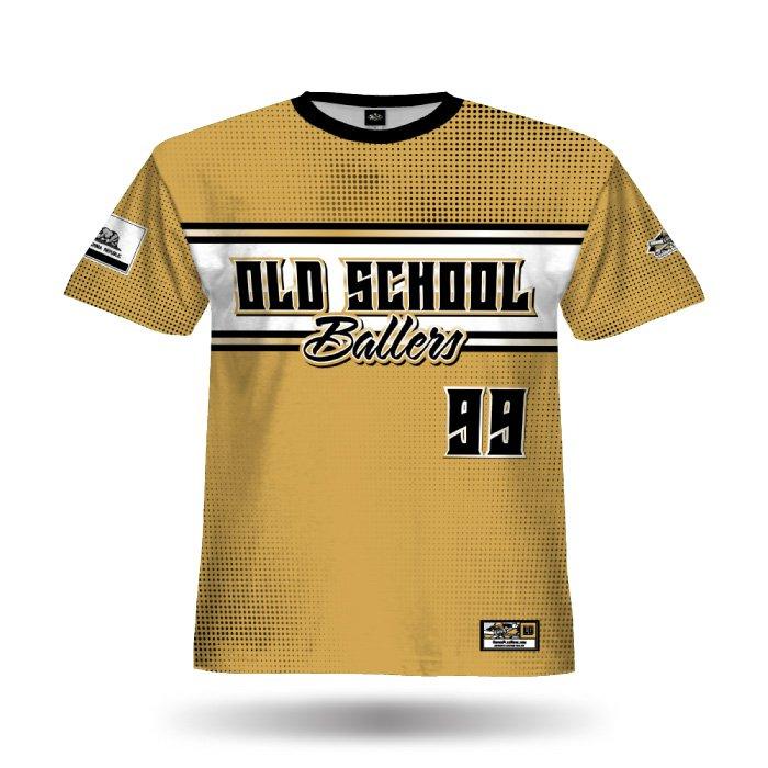 Retro White Sox Vegas Gold Full Dye Jersey