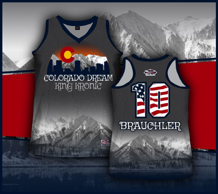 Rover Plus Nine Premium Quality Sublimated Racerback Full Dye Jersey