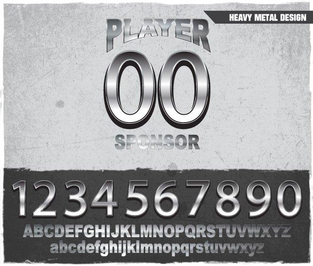 Heavy Metal Number Design