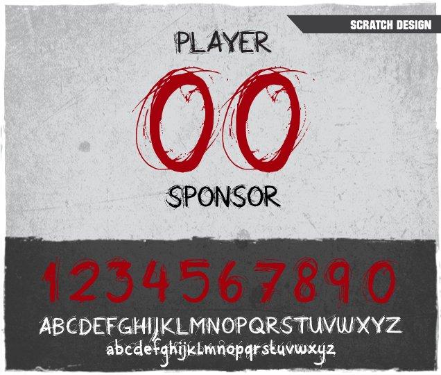 Scratch Number Design
