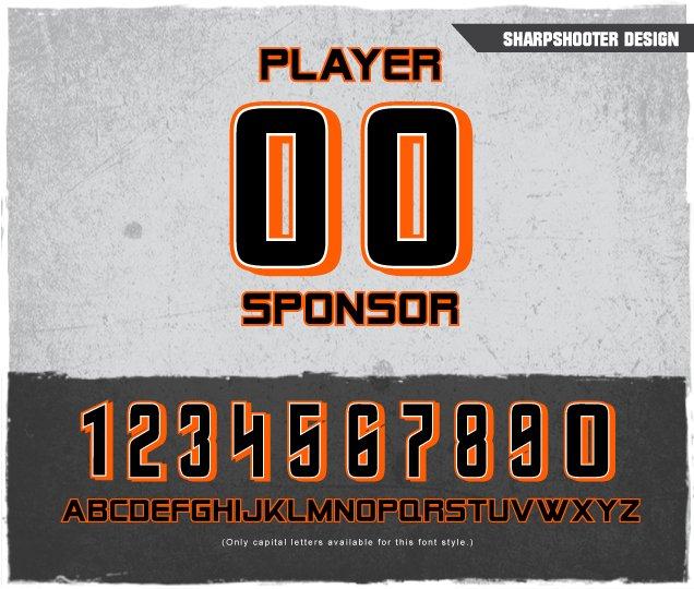 Sharpshooter Number Design