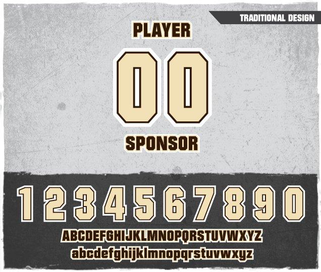 Traditional Number Design
